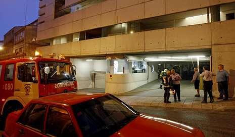 Prende fuego en una oficina de medio rural del edificio de for Oficina xunta de galicia