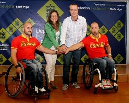 David Mouriz y Bernab� Costas participar�n en los Paral�mpicos.