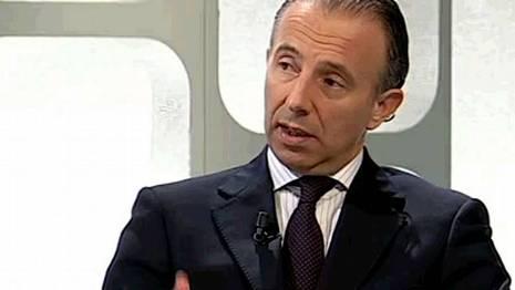 Carlos Delgado, durante el programa de televisi�n IB3