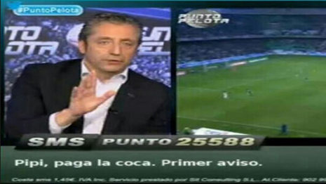 Pipi Estrada, protagonista en Twitter por un mensaje ofensivo en «Punto Pelota» Puntopelota