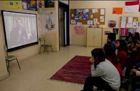 La profesora les puso el vídeo de Pau Gasol.