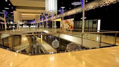 Planta superior del centro comercial donde muri� la ni�a Sandra Alonso