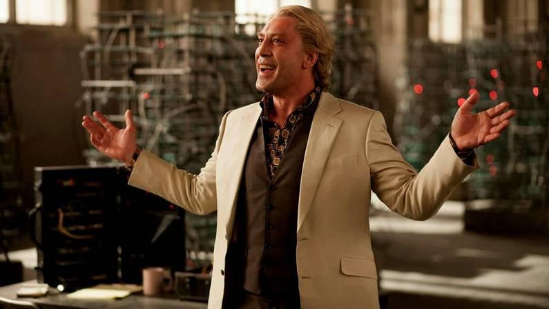 Javier Bardem, en su papel de Silva, el villano de la nueva entrega de James Bond, �Skyfall�
