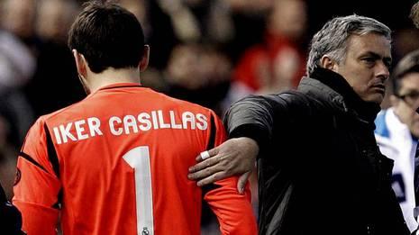 Casillas, lesionado JUAN CARLOS CARDENAS   Efe