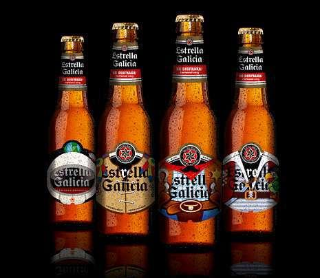 Las botellas de Estrella Galicia