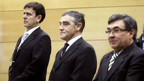 Eufemiano Fuentes, Labarta y Belda, en el banquillo Chema Moya | efe