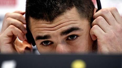 Benzema, jugador del Real Madrid, en rueda de prensa Chema Moya | Efe