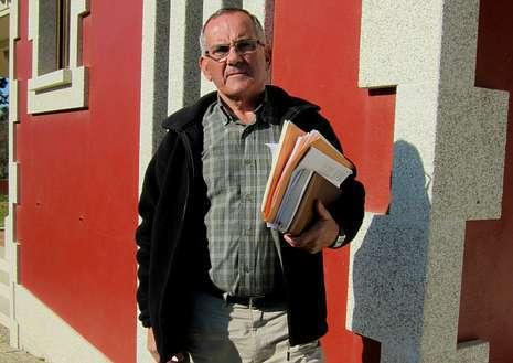 Jaime P�rez recuerda que solo empez� a hacer su casa �cuando tuve todos los permisos y licencias�