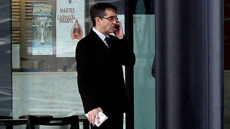 Fernando Vázquez, hoy en A Coruña CESAR QUIAN