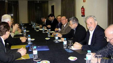 Reunión de gallegos en Cataluña