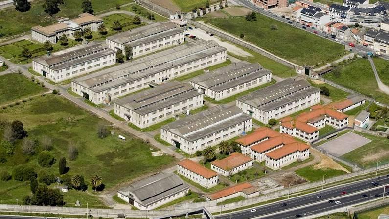 Imaxen da fábrica de armas de A Coruña