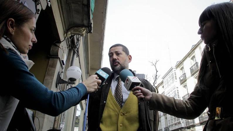 El abogado de Aurelia Rey, Antonio V�zquez. PACO RODR�GUEZ