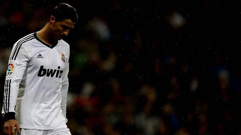 Cristiano Ronaldo, durante el partido ante el Rayo Vallecano. JAVIER BARBANCHO | Reuters