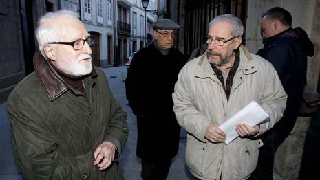 Chegada dos académicos Paco Rodríguez
