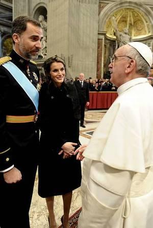 En su reciente visita a Roma junto al Papa Francisco. OSSERVATORE ROMANO