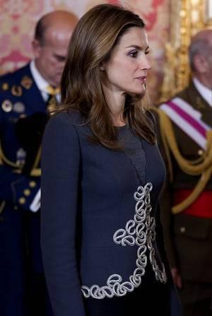La princesa de Asturias, druante la pascua militar. BENITO ORDO�EZ