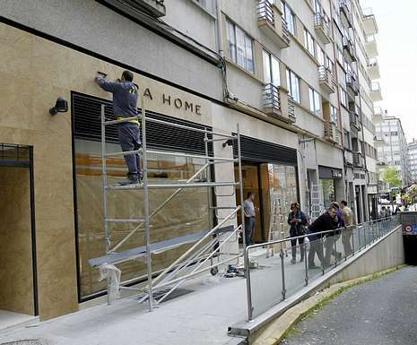 Inditex refuerza su peso con las tiendas de zara home y - Mueblerias en ourense ...