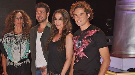 Rosario Flores, Antonio Orozco, Mal� y David Bisbal, los cuatro �coaches� de �La Voz�. Telecinco.es