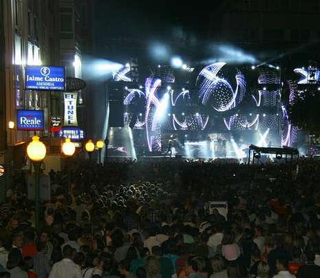 Las orquestas Sinton�a y Panorama tuvieron un gran tir�n.