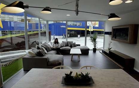 A coru a expone la casa modular m s grande de europa - Casas prefabricadas coruna ...