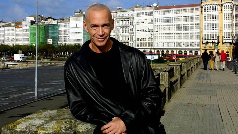 El actor, en 2001, en una visita a A Coru�a. XOSE CASTRO