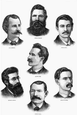 Los mártires de Chicago Wikipedia