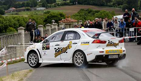 Senra vence el Rally Botafumeiro S25C15F1