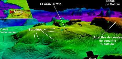 La montaña submarina del Banco de Galicia será incluida en la Red Natura