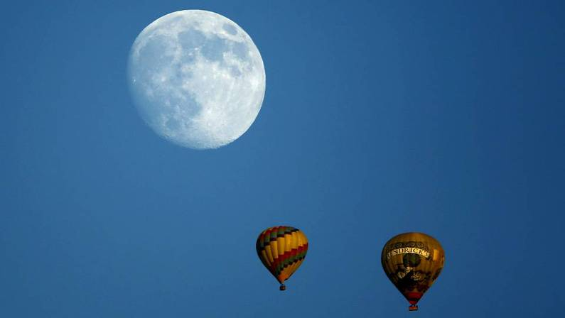 As� luc�a ya la luna este s�bado 6 de septiembre en California MIKE BLAKE | REUTERS