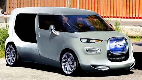 Dise�o de la nueva furgoneta seg�n una publicaci�n de automoci�n en Francia